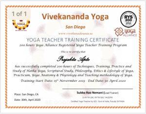 Hatha Yoga teacher surprise arizona