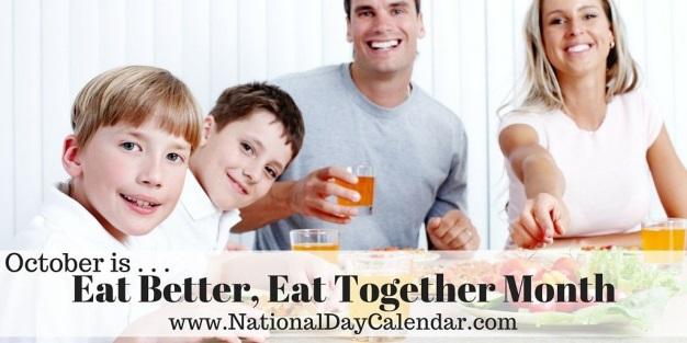 5 Tasty Tips for Eat Better, Eat Together Month